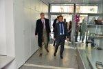 Посланиците на Франция и Швейцария на посещение в Дневен център